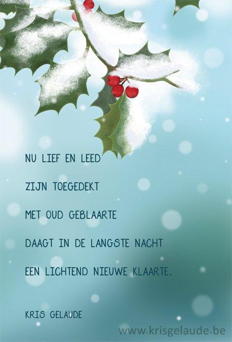 Citaten Kerst En Nieuwjaar : Kris gelaude kerst en nieuwjaar