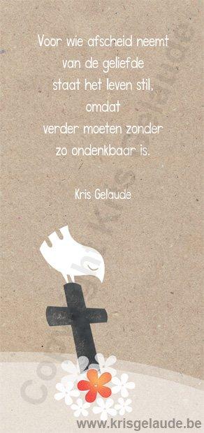 Kris Gelaude - Voor wie afscheid neemt