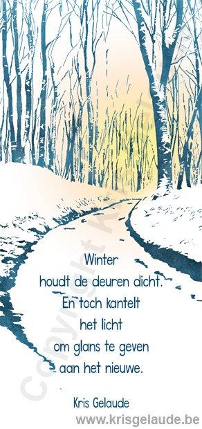 Kris Gelaude - Winter houdt de deuren dicht
